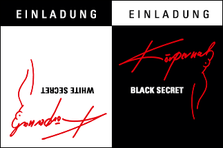 Modenschau WHITE SECRET - BLACK SECRET